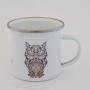 Mug HIPSTER vintage - Métallique