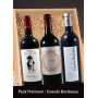 Pack premium x 3  : Grands vins de Bordeaux