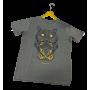 T-shirt HIPSTER - Hibou- Femme - 185g Coton 100% BIO-KAKI