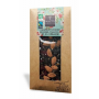 Chocolat Noir Bio Amandes Caramel Sel Guérande - cacao 73% BOVETTI - 100 g