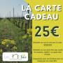 La Carte cadeau 25 € - Les Chais BIO
