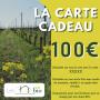 La Carte cadeau 100 € - Les Chais BIO