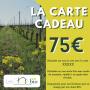 La Carte cadeau 75 € - Les Chais BIO