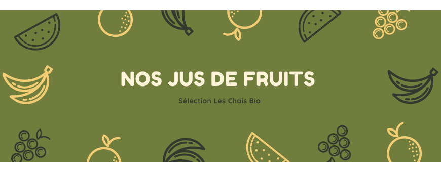 Nos Jus de fruits